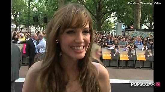 Video of Angelina Jolie Talking About Brad Pitt and Her Kids at the London Premiere of Salt 2010-08-16 22:55:46