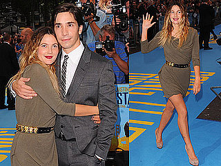 Pictures of Drew Barrymore and Justin Long at the London Premiere of Going the Distance 2010-08-19 16:00:00