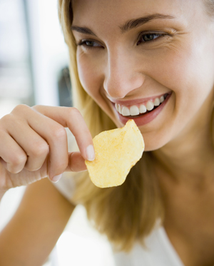 Put Snacks on a Plate to Avoid Overindulging