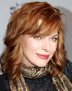 Picture of Milla Jovovich With Red Hair and How to Get the Look