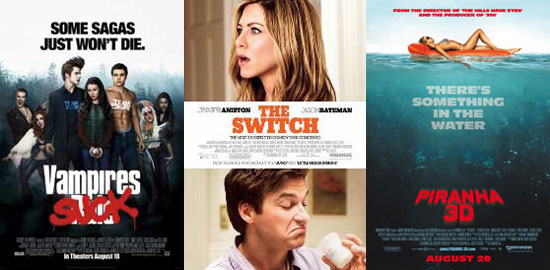 PopSugar Poll: Which New Movie Will You See This Weekend —Vampires Suck, The Switch, or Piranha 3D?