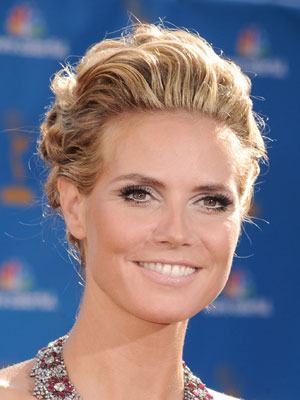 Heidi Klum at 2010 Emmy Awards