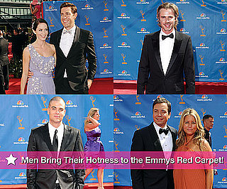Pictures of Sam Trammell, John Hamm, Stephen Moyer, Jimmy Fallon and More Men on the Red Carpet of the Emmy Awards