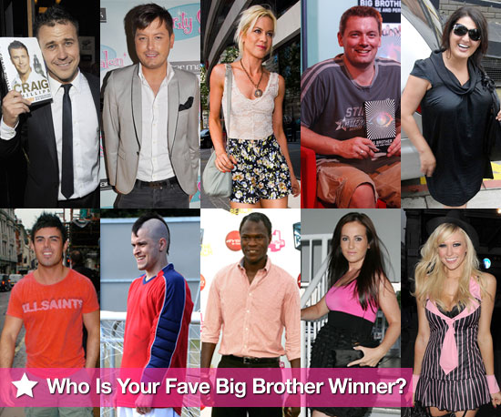 Pictures of All Big Brother UK Winners From Series 1-10 Including Sophie Reade, Brian Belo, Craig Phillips Ahead of BB11 Final