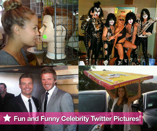 Fun and Funny Celebrity Twitter Photos of Lauren Conrad, Lady Gaga, and Eva Longoria 2010-08-26 10:00:00