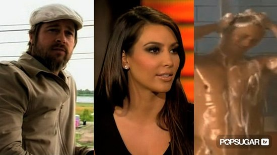 Video of Brad Pitt in the Spike Lee Documentary, Video of Kim Kardashian Talking About Dating Justin Bieber, and Video of Alexan 2010-08-25 13:32:41