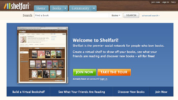 Review of Shelfari