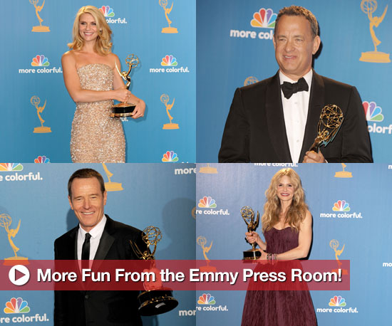 Tom Hanks, Kyra Sedgwick, Claire Danes, Bryan Cranston Quotes From the Emmy Press Room