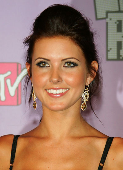 September 2007: Audrina at the MTV Video Music Awards