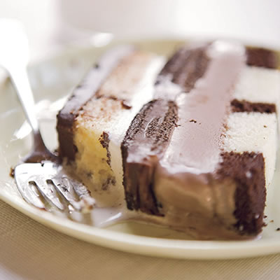 Triple Chocolate Ice Cream Cake Recipe