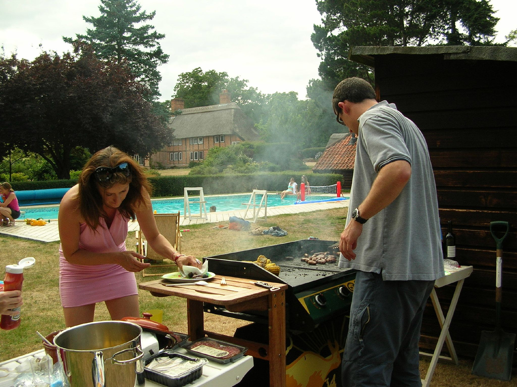 Hosting a Barbecue