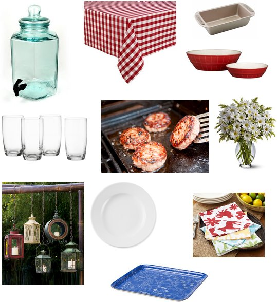 Decorating ideas for a labor day barbecue popsugar food - Labor day decorating ideas ...