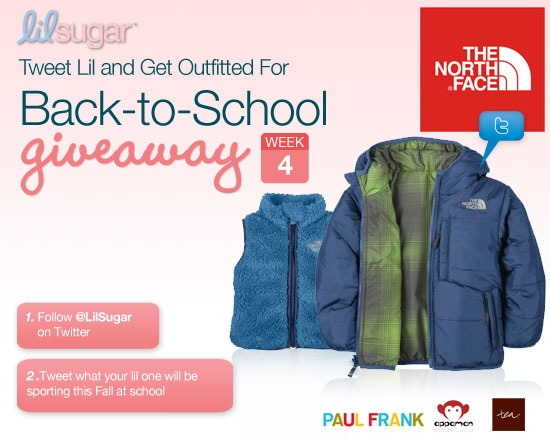 Win a Wardrobe From The North Face and LilSugar