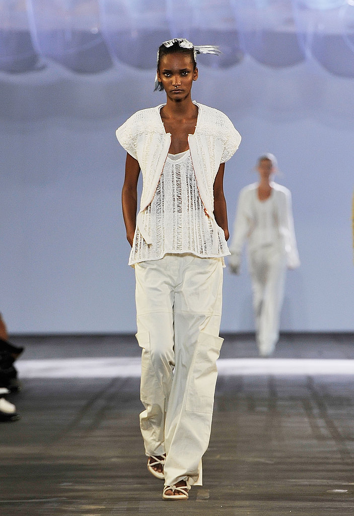"""Alexander Wang Ditches the Black """"Uniform,"""" Goes Light for Spring 2011"""
