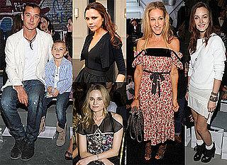 Victoria Beckham, Leighton Meester, Rachel Bilson, Sarah Jessica Parker, Diane Kruger etc at 2011 Spring New York Fashion Week