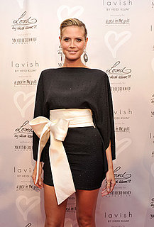 Interview with Heidi Klum About Maternity Clothes