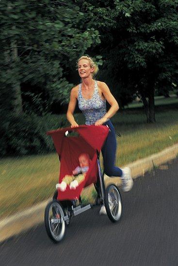 Walk to School Stroller Workout