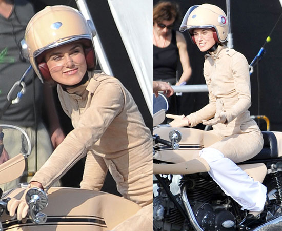 Pictures of Keira Knightley Filming Chanel Ad in Paris, Last Night Will Close TFF and Open RFF, Never Let Me Go Open LFF