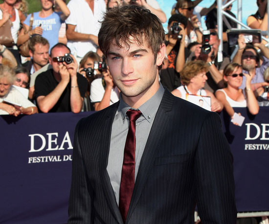 Slide Picture of Chace Crawford at the Deauville Film Festival in France