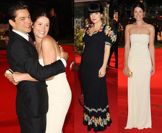 Tamara Drewe London Premiere with Gemma Arterton, Dominic Cooper, Lily Allen, Ed Westwick
