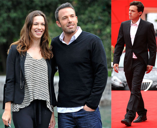 Ben Affleck, Rebecca Hall and Casey Affleck At the Venice Film Festival