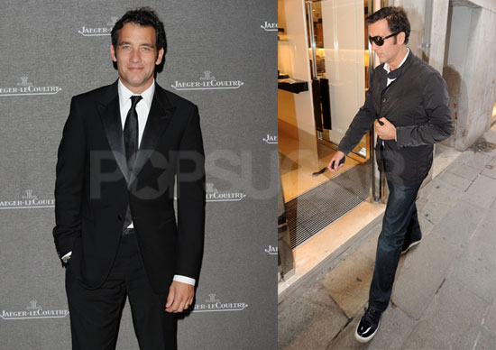 Pictures of Clive Owen Making the Rounds During the 2010 Venice Film Festival