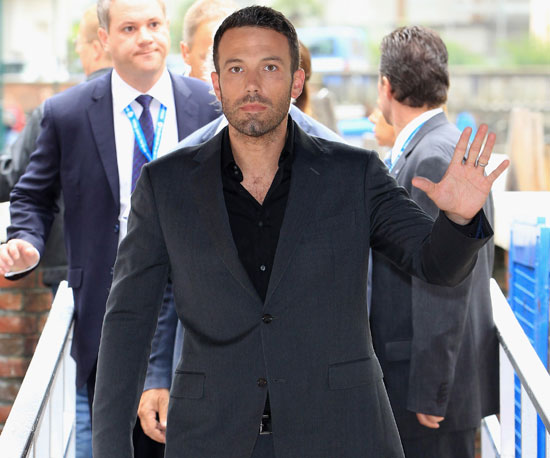 Slide Picture of Ben Affleck at the Venice Film Festival