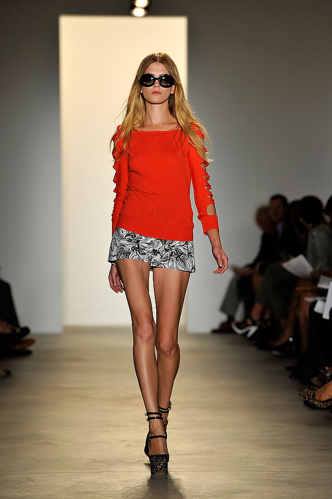 Gap-Toothed Ashley Smith Makes First Runway Appearance in Peter Som's Spring 2011 Sea of Color