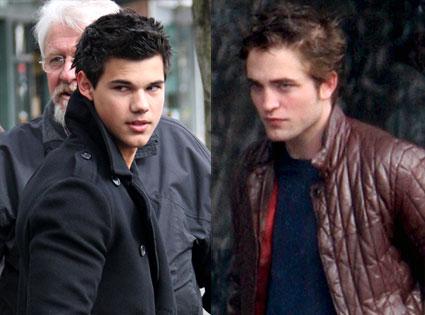 Robert Pattinson VS Taylor lautner