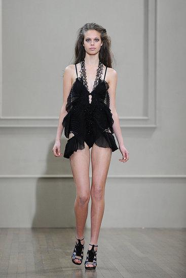 Spring 2011 London Fashion Week: Julien Macdonald