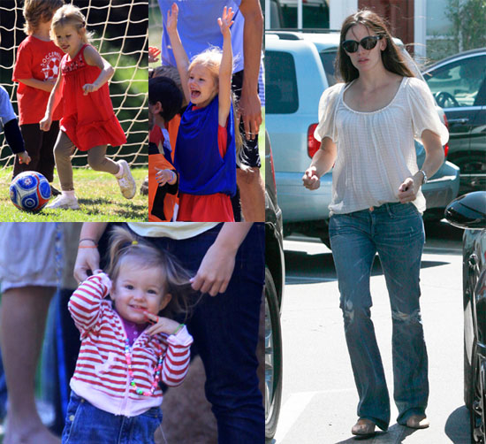 Pictures of Jennifer, Seraphina and Violet