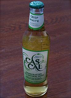 Cascal Crisp White All Natural Soda