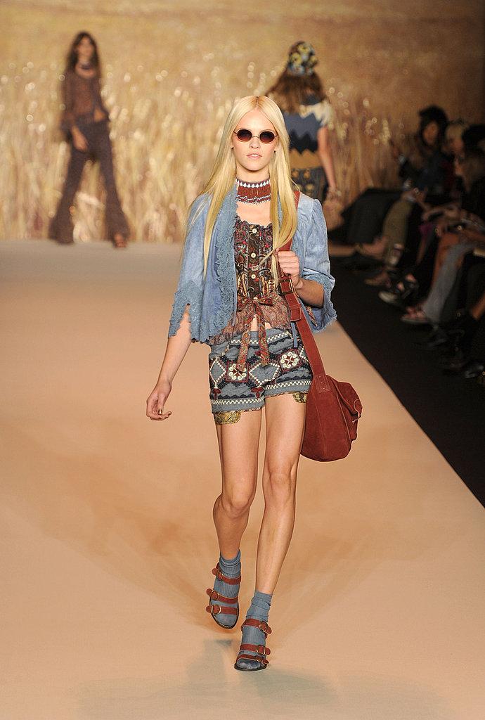 2011 Spring New York Fashion Week: Anna Sui
