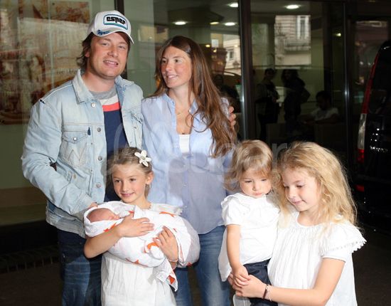 Jamie and Jools Oliver Welcome Son Buddy