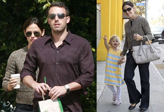 Pictures of Jennifer Garner and Ben Affleck
