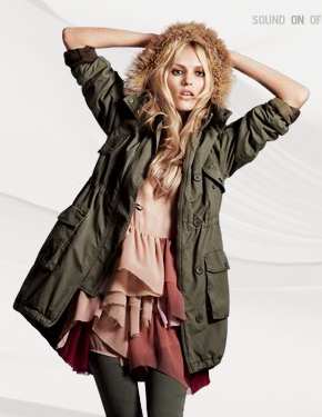 H&M Fall 2010 With Anja Rubik