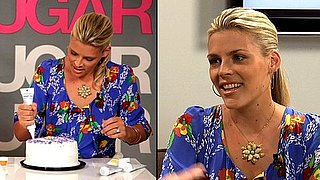Busy Philipps Cougar Town Interview on Courteney Cox, Jennifer Aniston, Cake Decorating