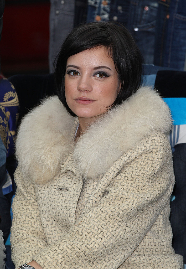 Lily Allen at the Westfield Car Boot Fair