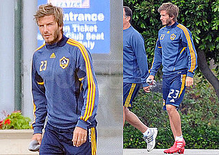 Pictures of David Beckham in Uniform