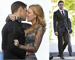 Pictures of Blake Lively and Chace Crawford Shooting Gossip Girl at the Lincoln Center Opera