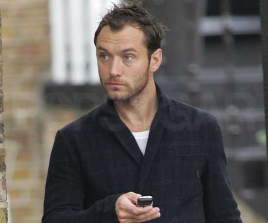 Slide Picture of Jude Law in London