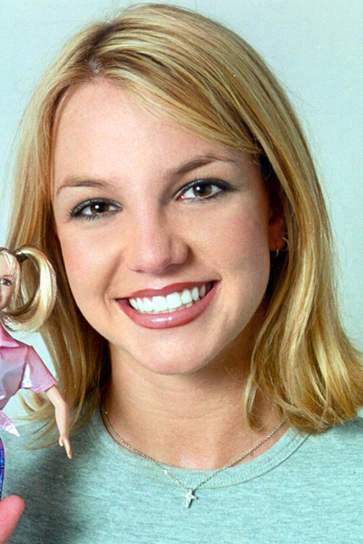 October 1999: With the Britney Doll