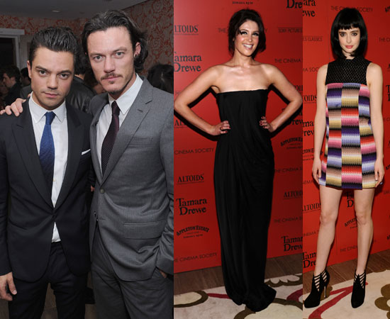 Gemma Arterton, Dominic Cooper, Luke Evans, Krysten Ritter at Tamara Drewe NYC Screening