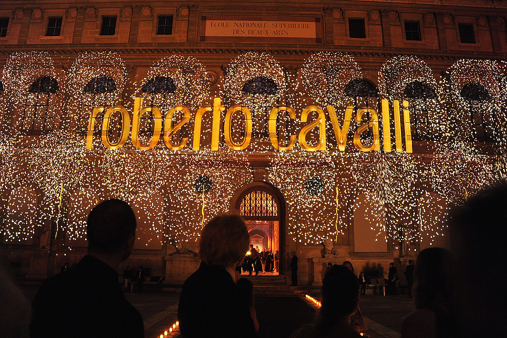 Over-the-top decor — but would you expect anything less from Cavalli?