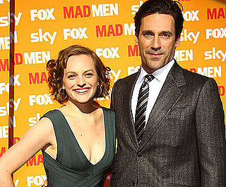 Slide Picture of Jon Hamm and Elisabeth Moss in Germany Promoting Mad Men