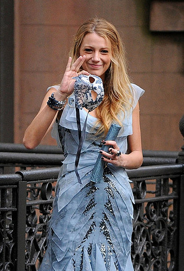 Blake Lively Films in the East Village