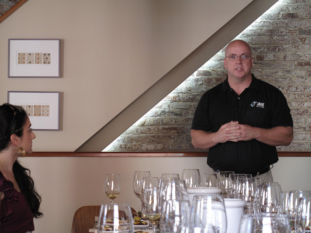 A private food and wine pairing