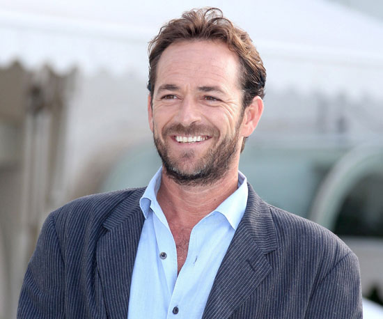 Slide Picture of Luke Perry in Cannes