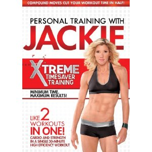 Review of Jackie Warner's Fitness DVD:  Xtreme Timesaver Training