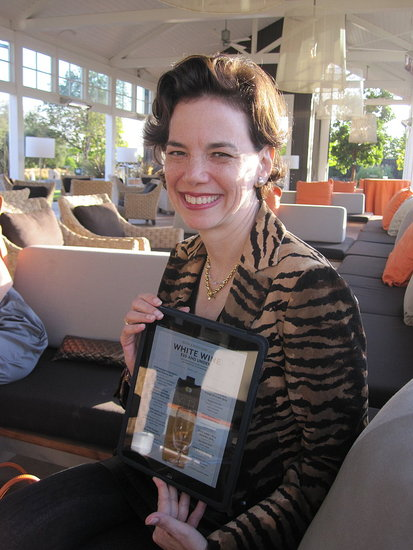 On the Day of Food and Wine's iPad App, an Interview With Dana Cowin